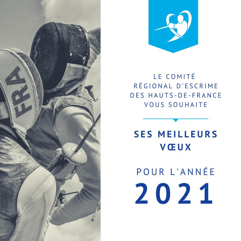 Meilleurs vœux pour 2021 🤺