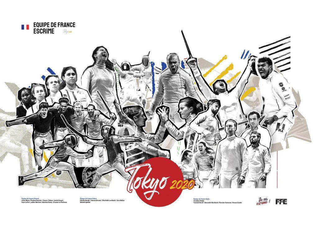 Equipe de France FFE, JO Tokyo